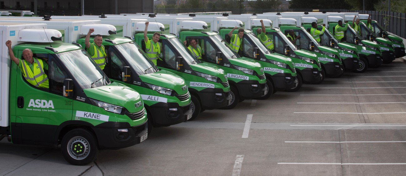 af4cafe519 It s Coming Home…Shopping! Asda Names New Delivery Vans In Honour Of  England Heroes