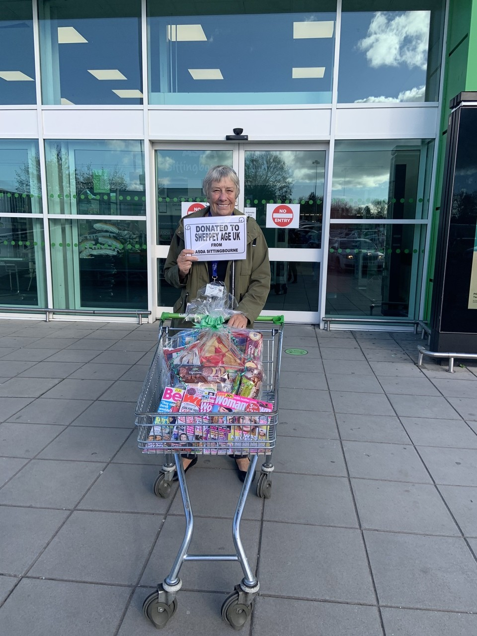 Donation to Sheppey Age UK | Asda Sittingbourne