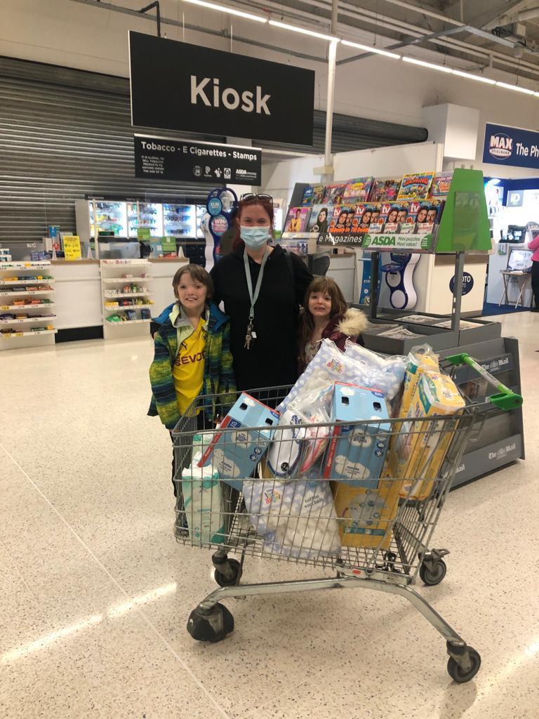 Donation for Hartlepool Baby Bank | Asda Hartlepool