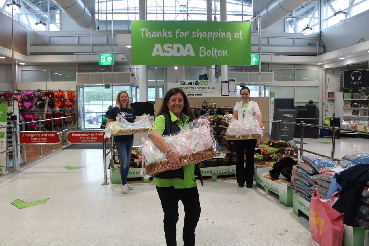 Donating to Baby Basics Bolton & Bury charity  | Asda Bolton
