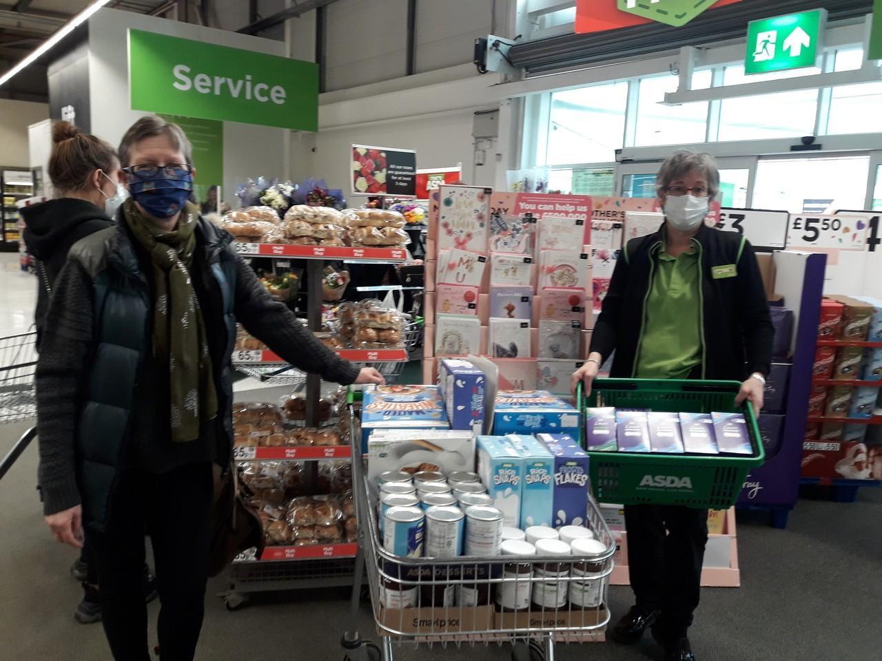 Food bank support | Asda Rawtenstall