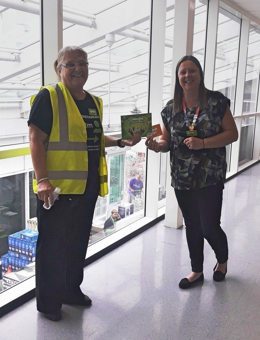 Tina praised for lockdown help | Asda Lincoln North Hykeham