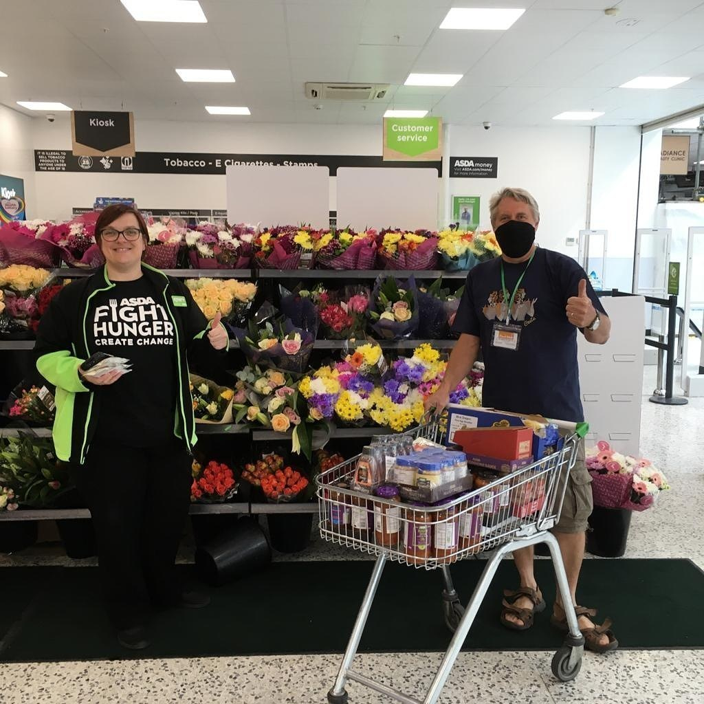 Woodley Food Bank donation  | Asda Lower Earley