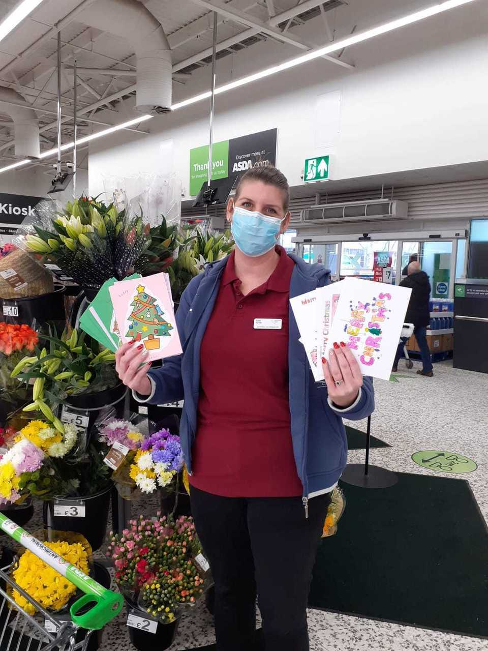 Thanks for supporting our Christmas card appeal  | Asda Fareham