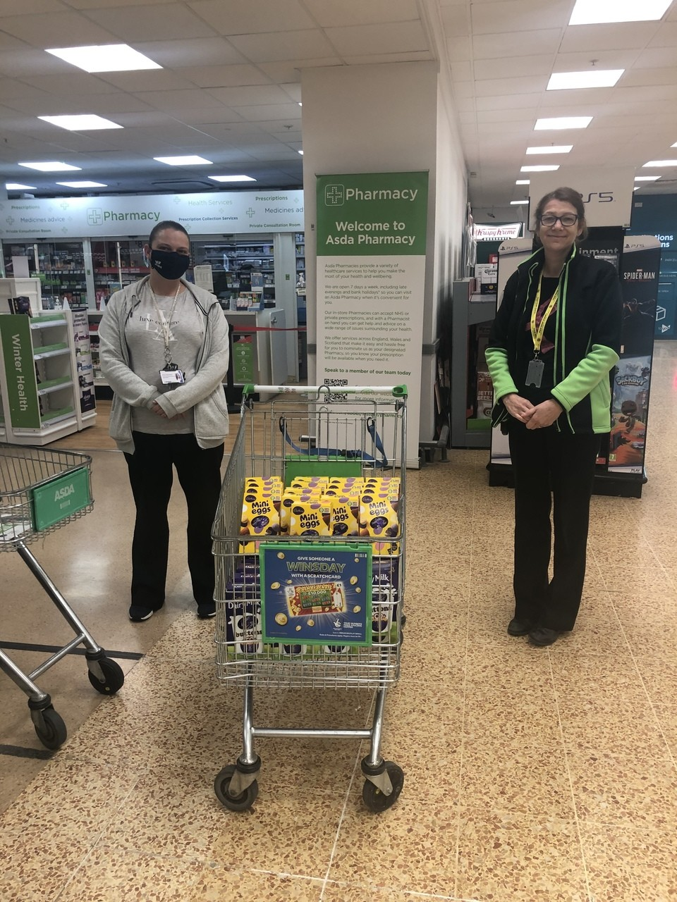 Young Carers Donation | Asda Wakefield
