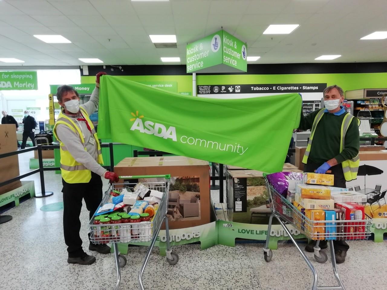 Food Bank Donations | Asda Morley