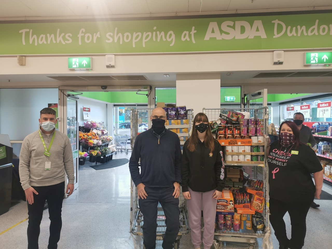 Supporting local food banks | Asda Dundonald