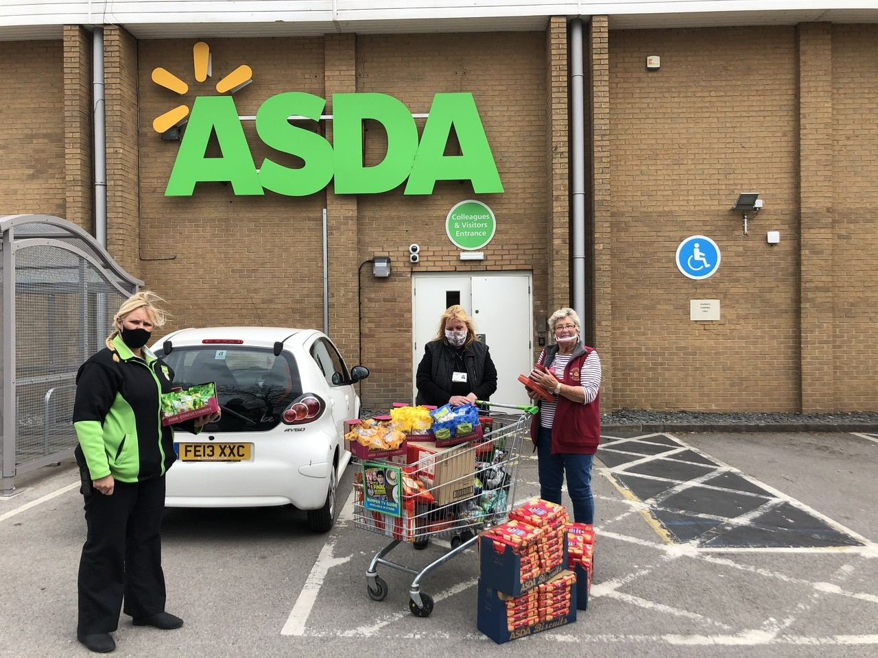 Donation to Age UK Derby and Derbyshire | Asda Derby
