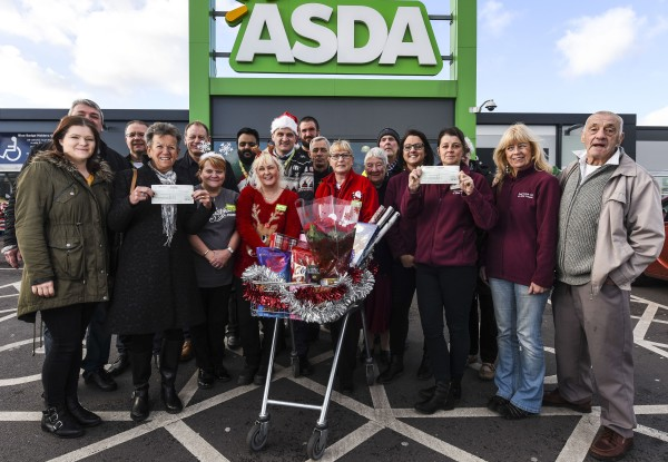 Donation to South Leeds Live at Home from Asda Beeston