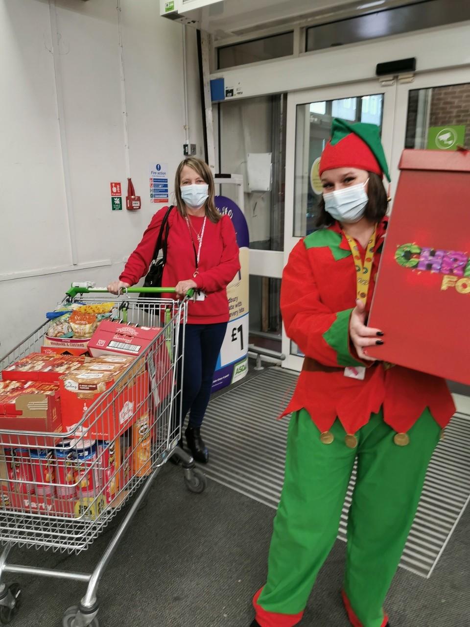 Christmas cards for care home residents | Asda Wythenshawe