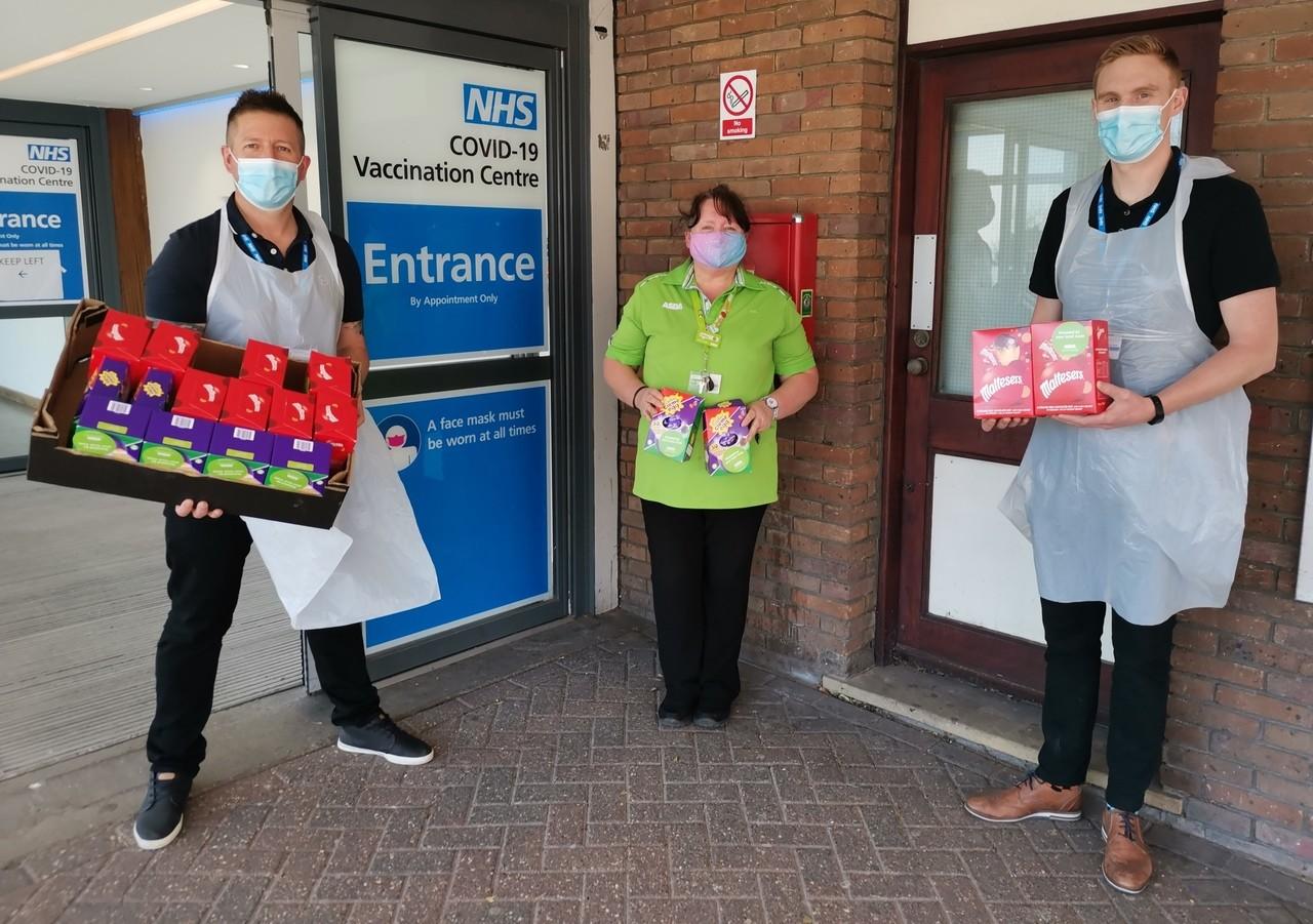 Eggs for vaccine volunteers | Asda Shoebury