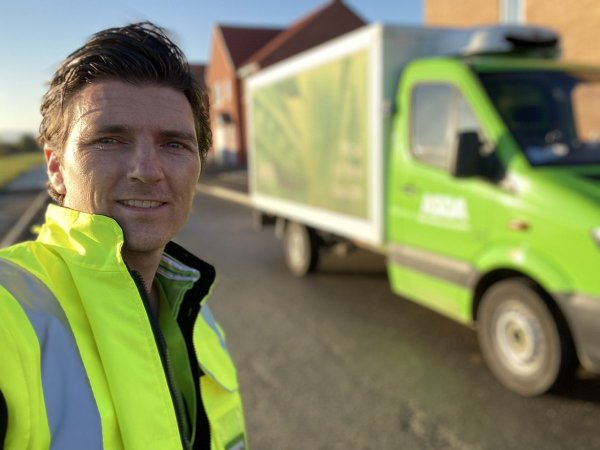 Benidorm star Asa Elliott on his delivery rounds from Asda Kingswood