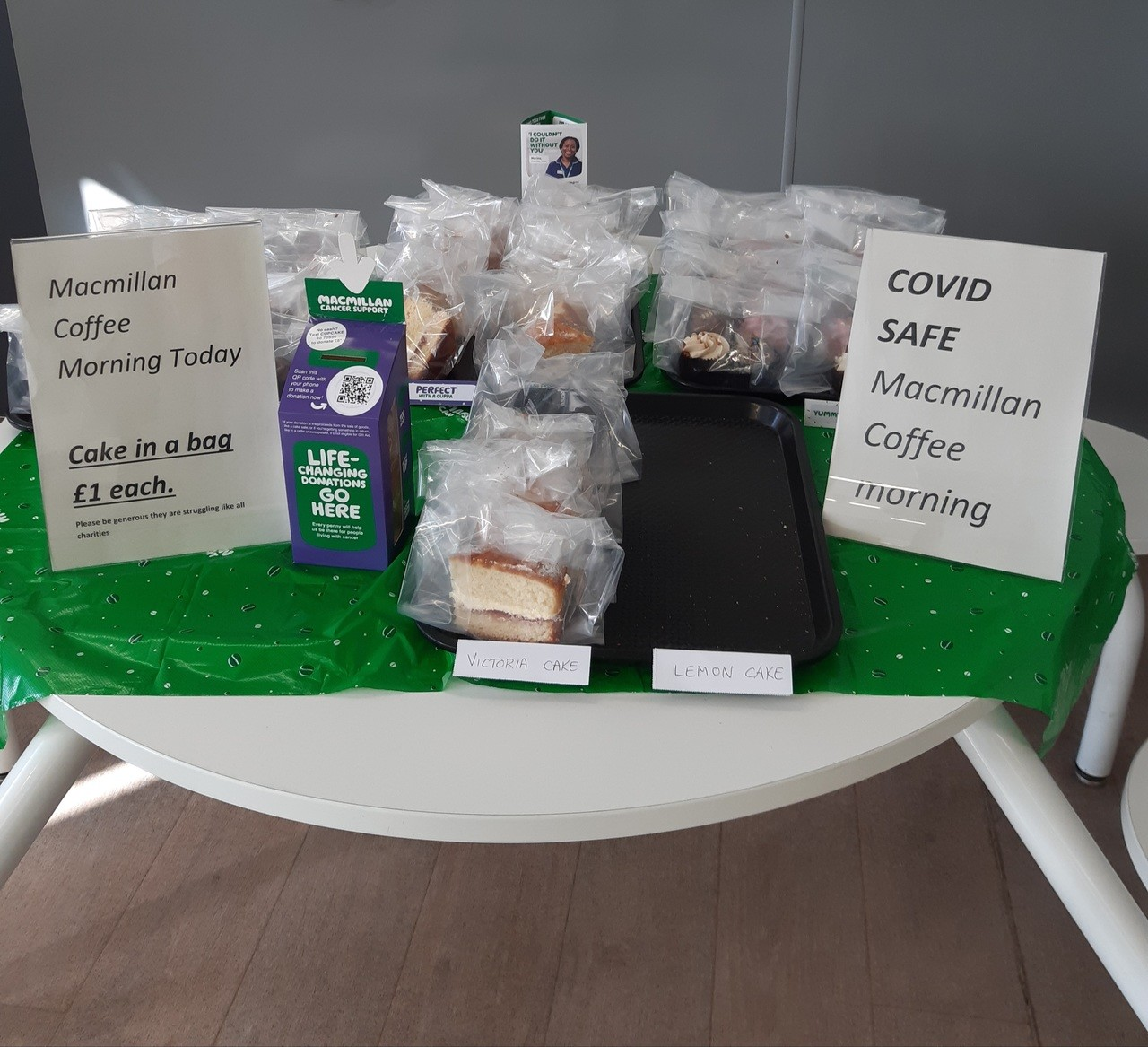 Macmillan coffee morning  | Asda Crewe