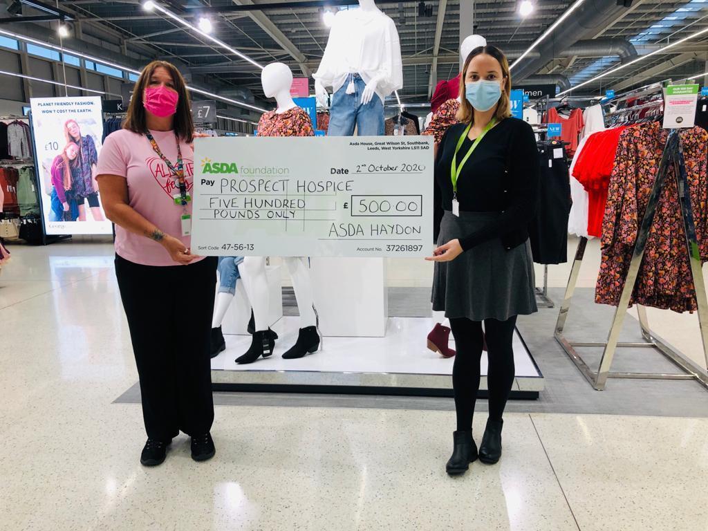 Healthy Hygiene Grant to hospice | Asda Swindon Haydon