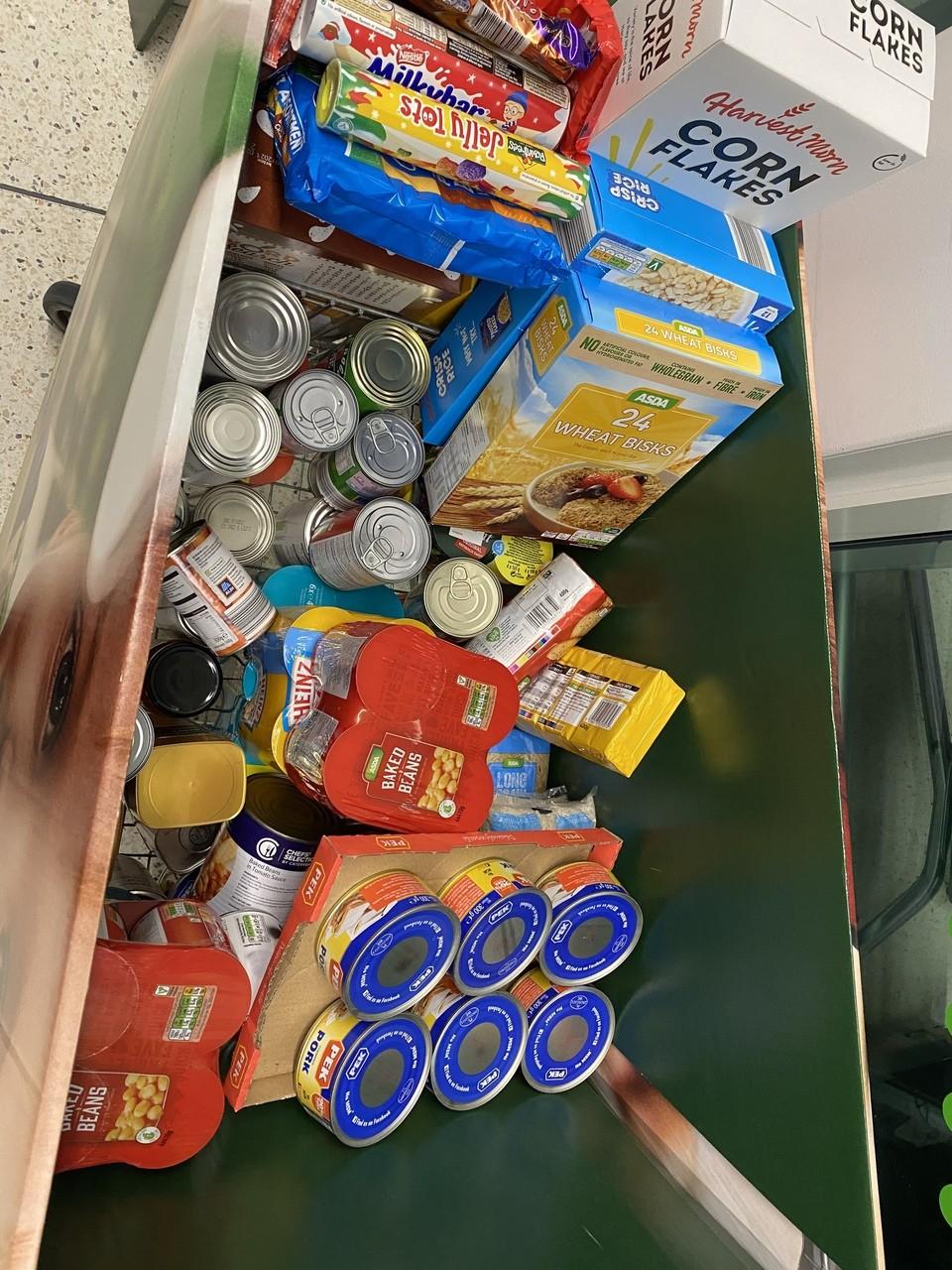 Foodbank trolley | Asda Gorseinon