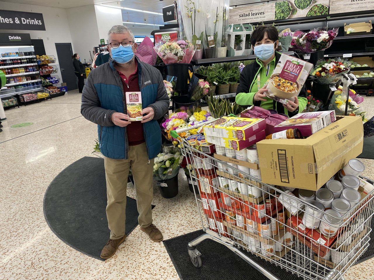 Donation of food  | Asda Cookstown