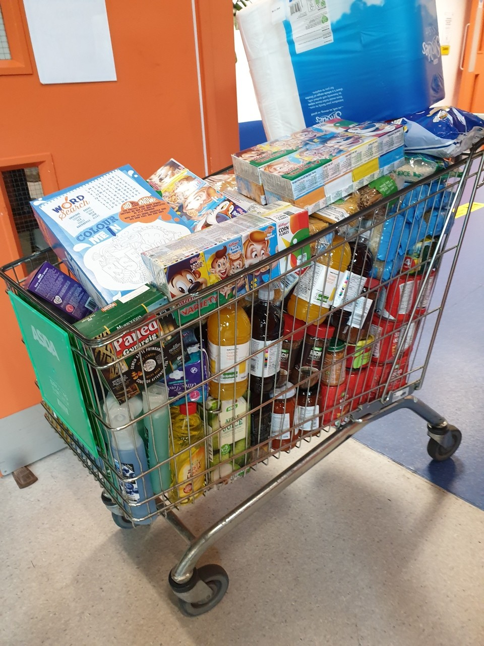 Supporting our food bank | Asda Hereford