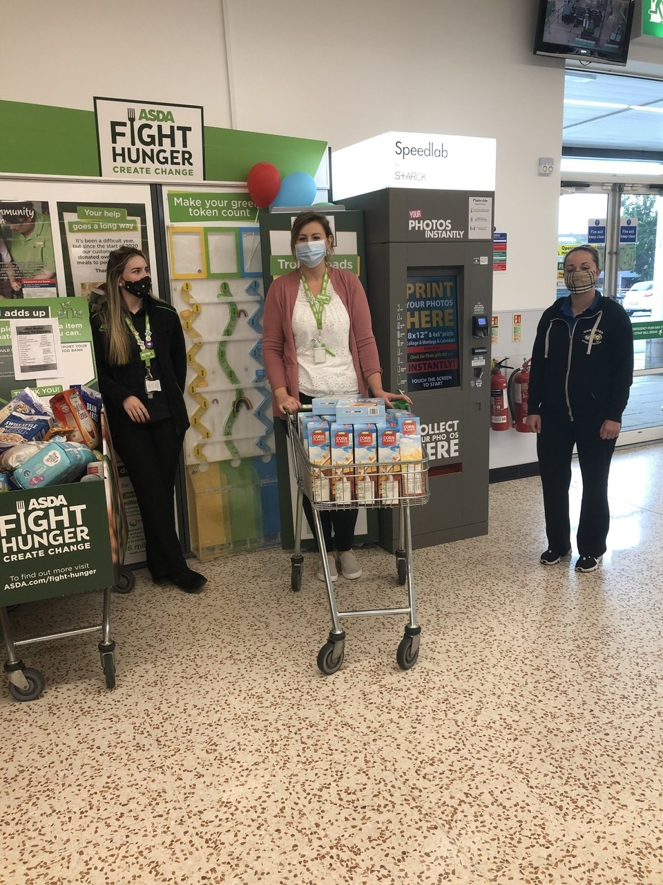 Breakfast donation | Asda Cookstown