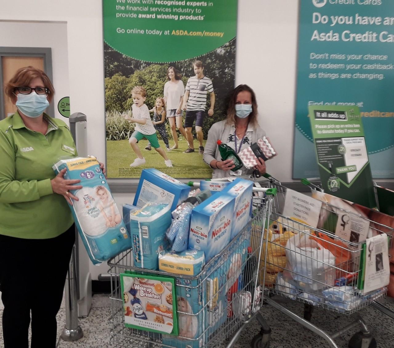 July community donations | Asda Kirkcaldy