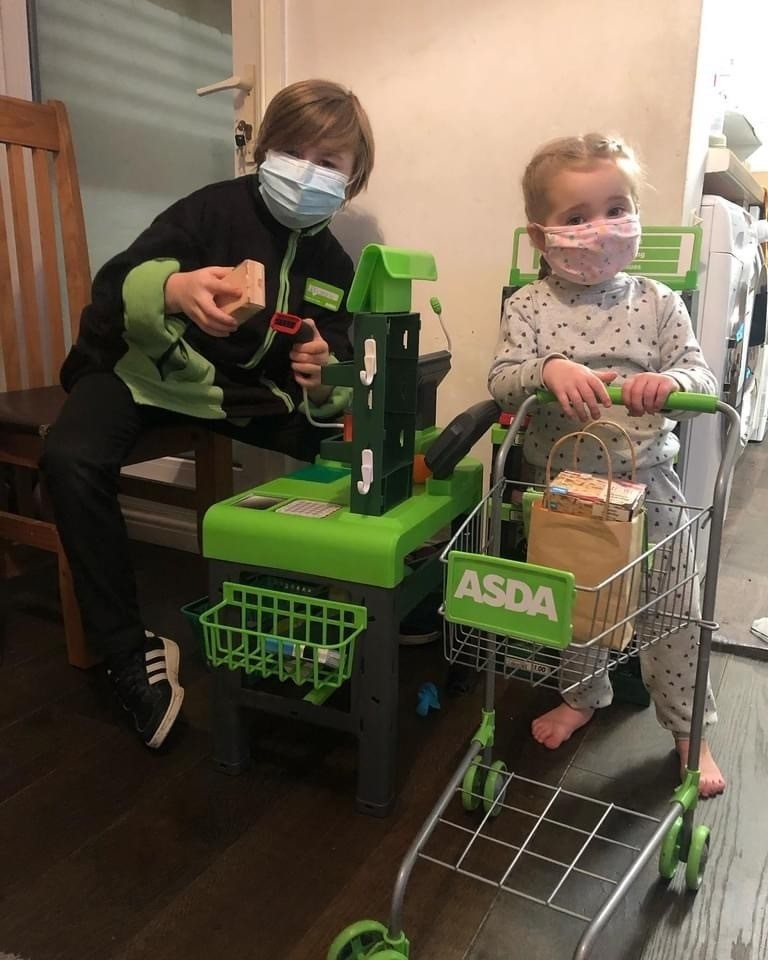 Little shoppers at home  | Asda Portsmouth