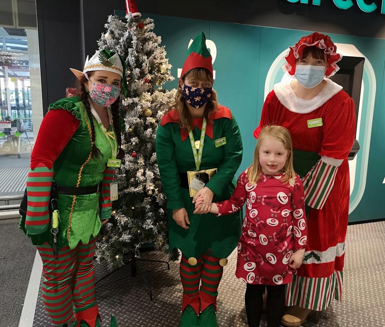 Santa's helpers | Asda Elgin