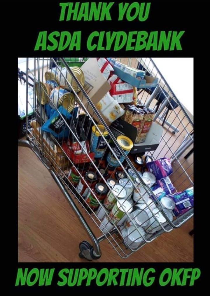 Help for Food banks | Asda Clydebank
