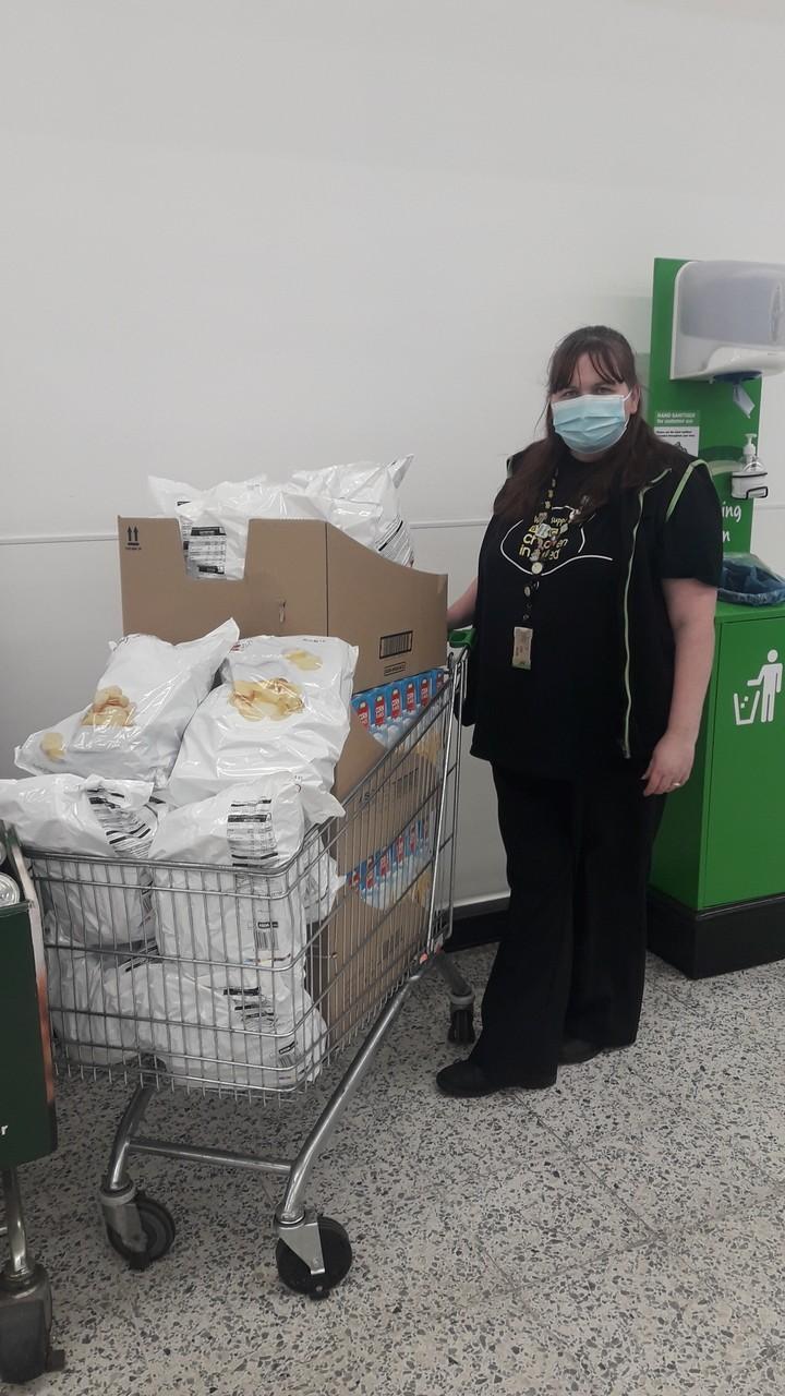 Food bank donation | Asda Fareham