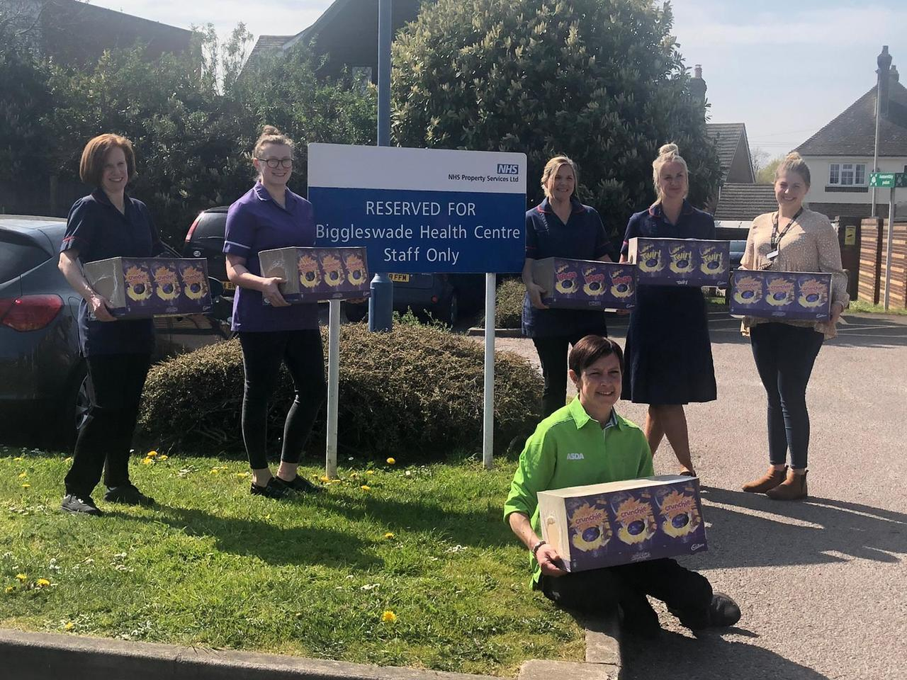 NHS Easter egg donation  | Asda Biggleswade