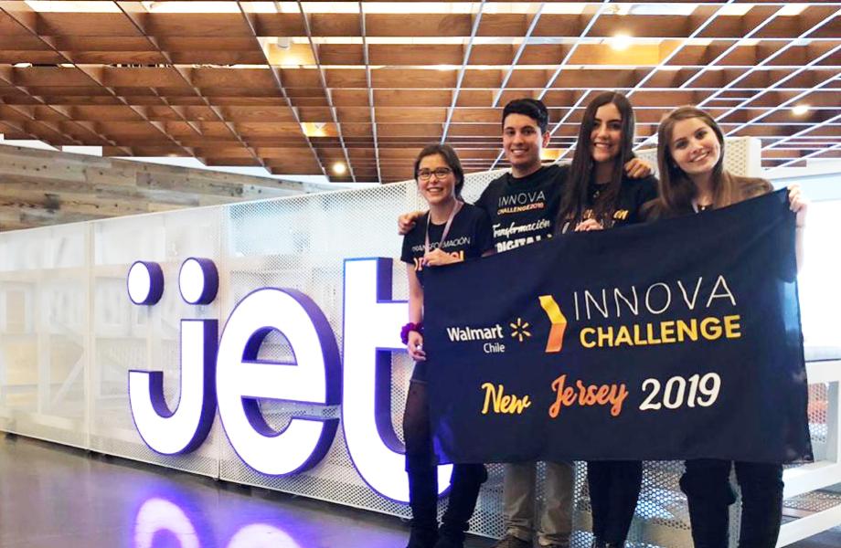 Innova Challenge winners visit the Jet.com headquarters