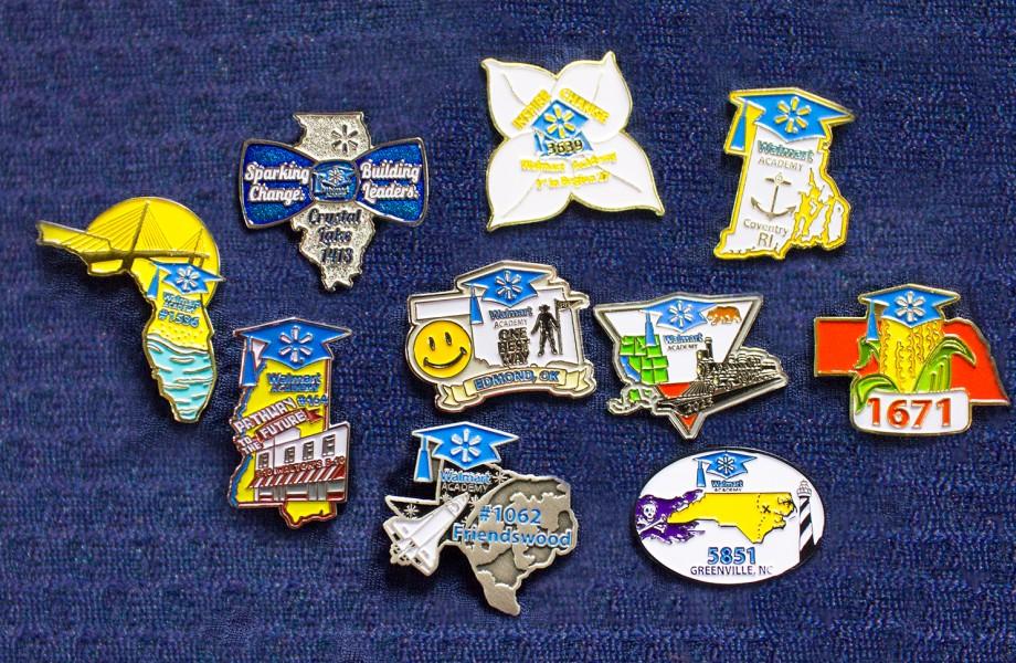 Walmart Academy Pins