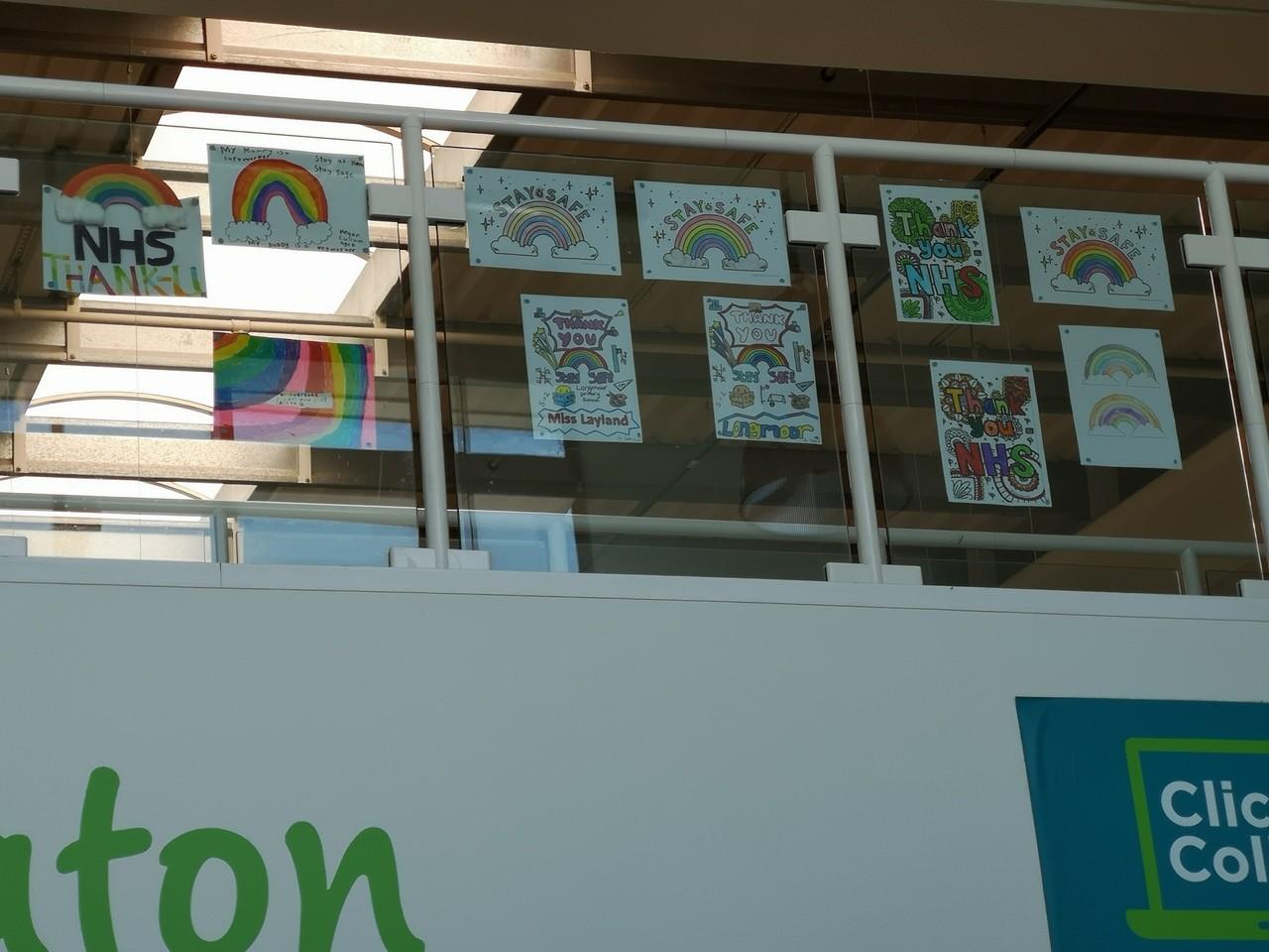 Thank you posters | Asda Long Eaton