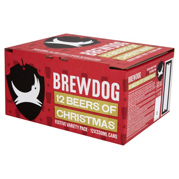 Brewdog 12 beers of Christmas at Asda