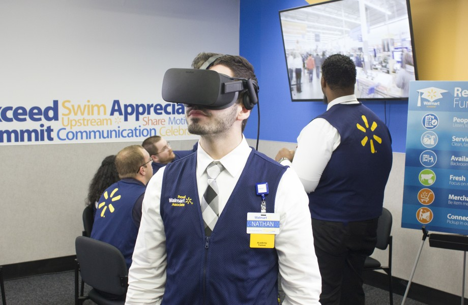 Associate testing virtual reality in an Academy