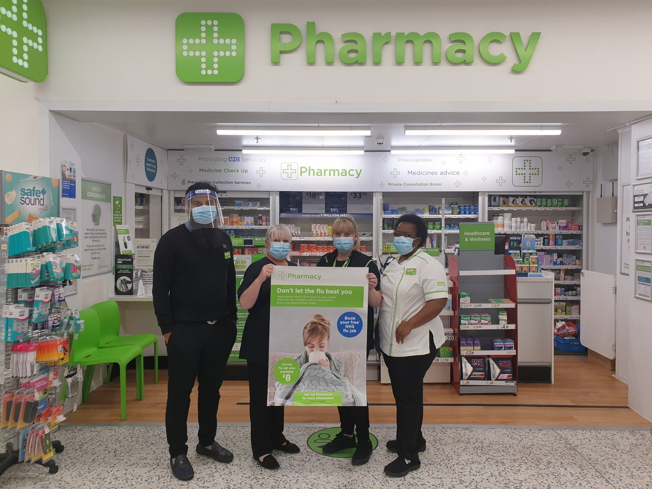 Flu jabs available | Asda Killingbeck