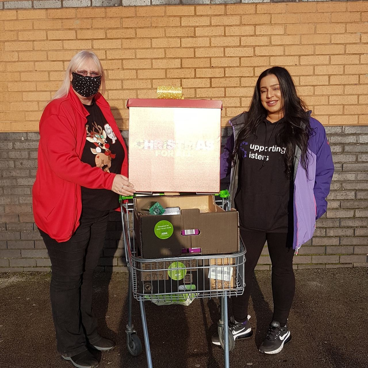 Donation to Supporting Sisters | Asda Pilsworth
