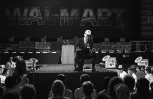 Sam Walton at Shareholder's 1987