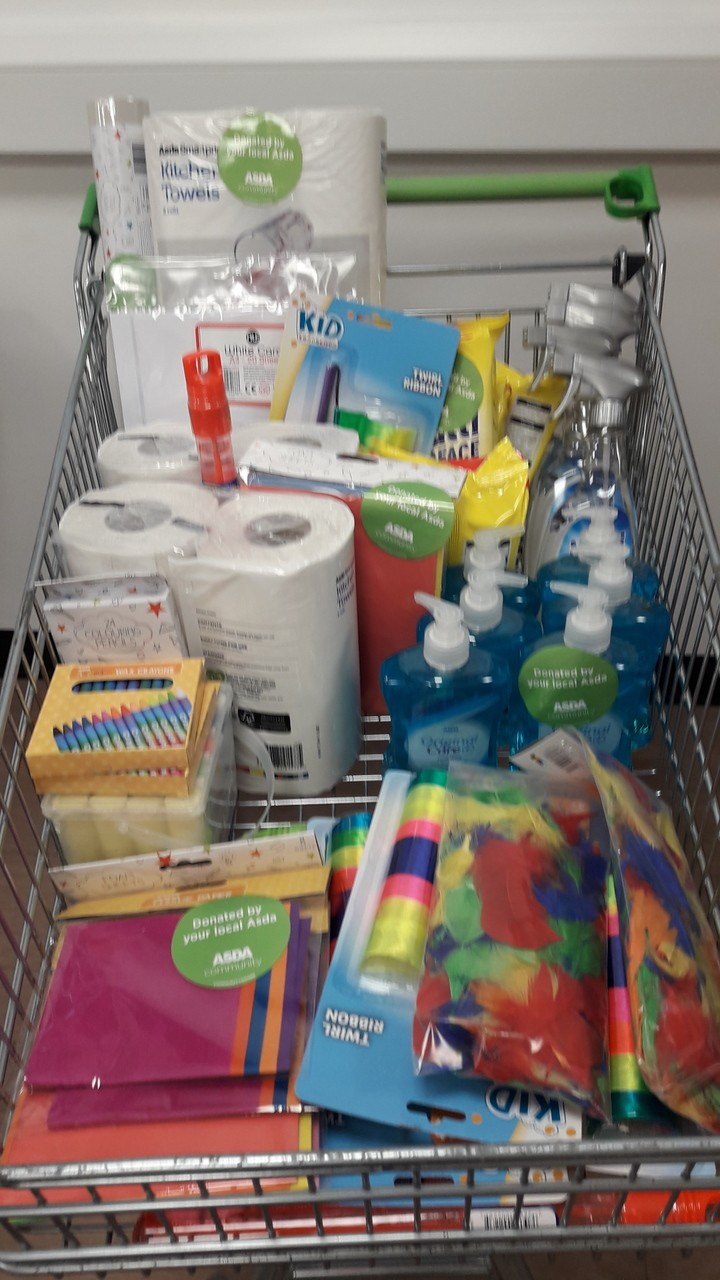 Serendipity Nurseries needed supplies | Asda Darlington
