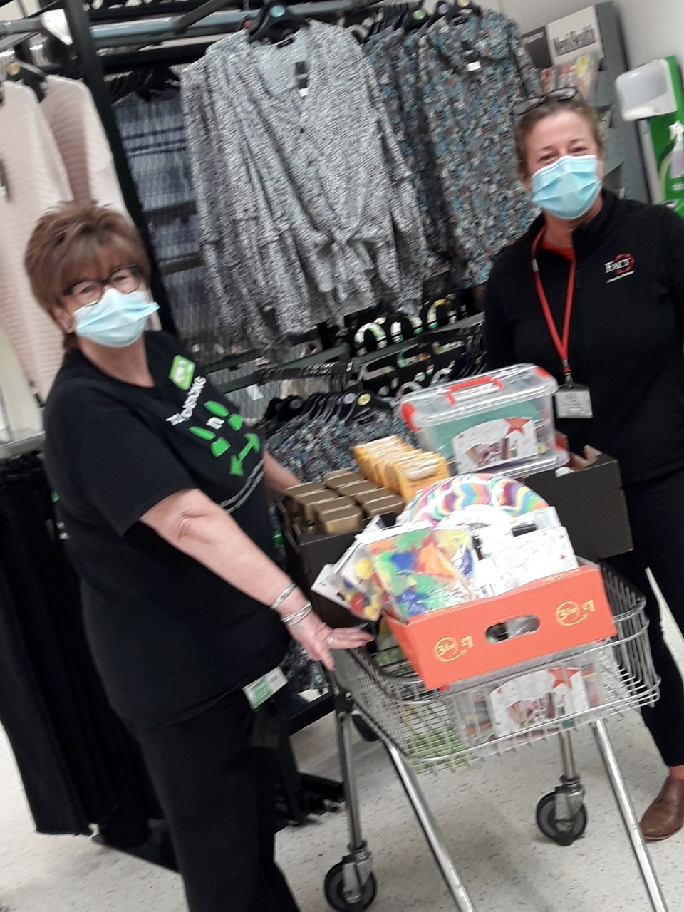 Store donation to FACT | Asda Gateshead