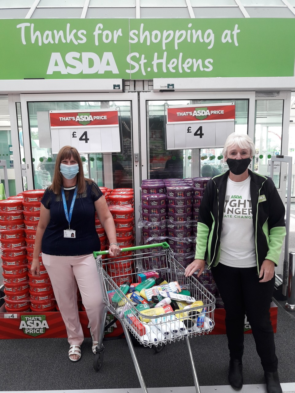 Donation to APEX | Asda St Helens