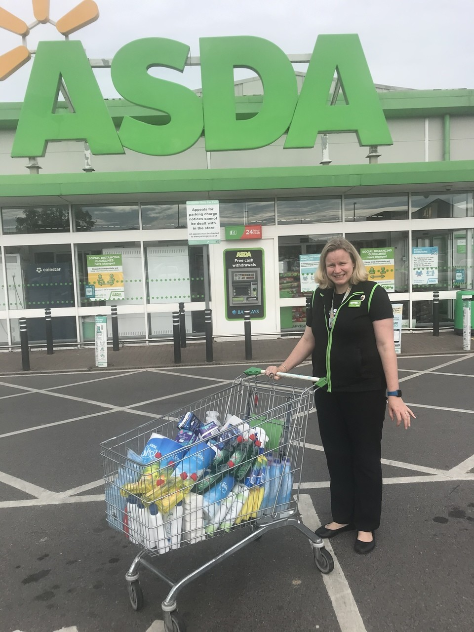 Household pack donation  | Asda Gillingham
