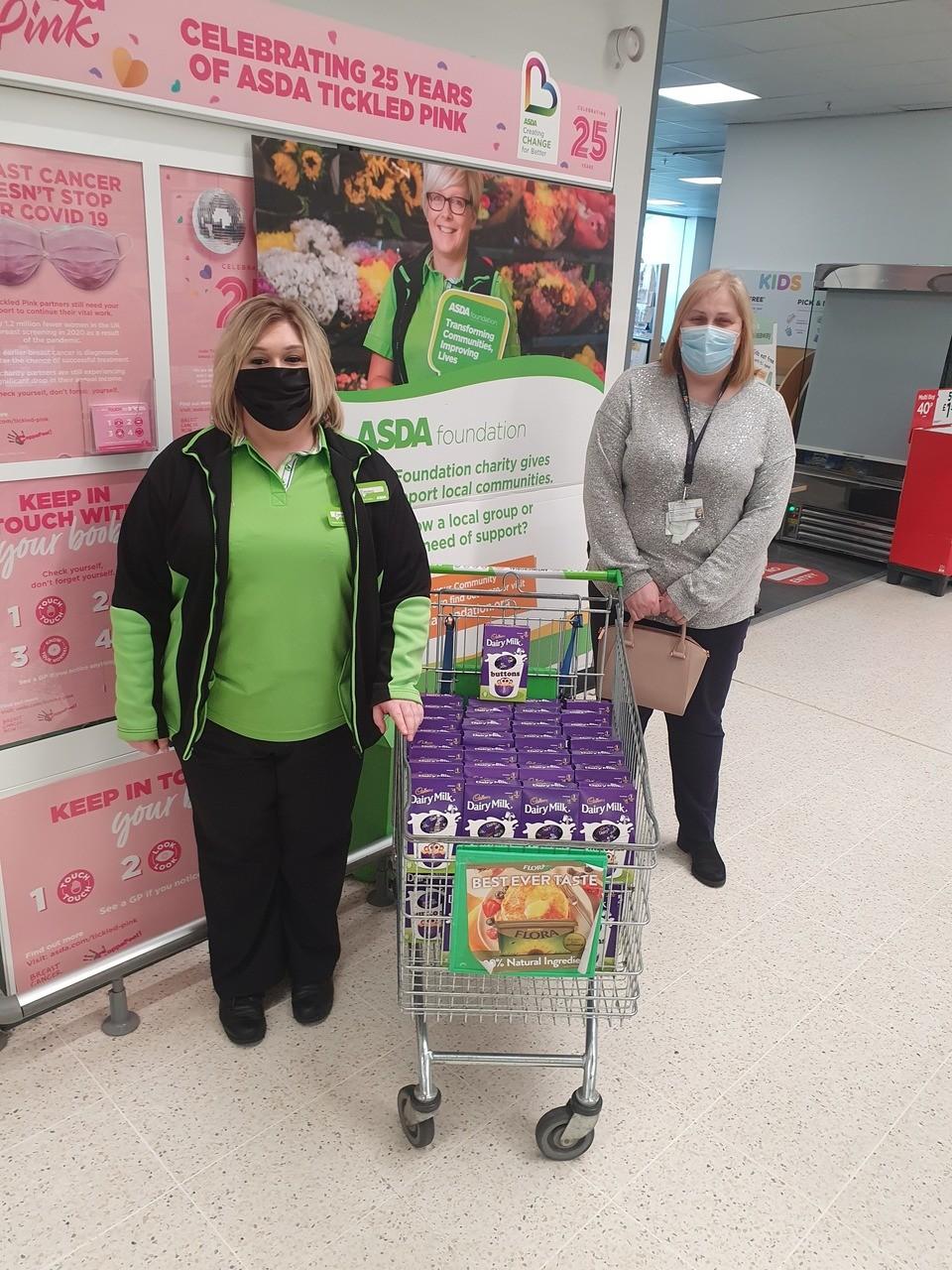 Riccarton Early Childhood Centre Donation | Asda Kilmarnock