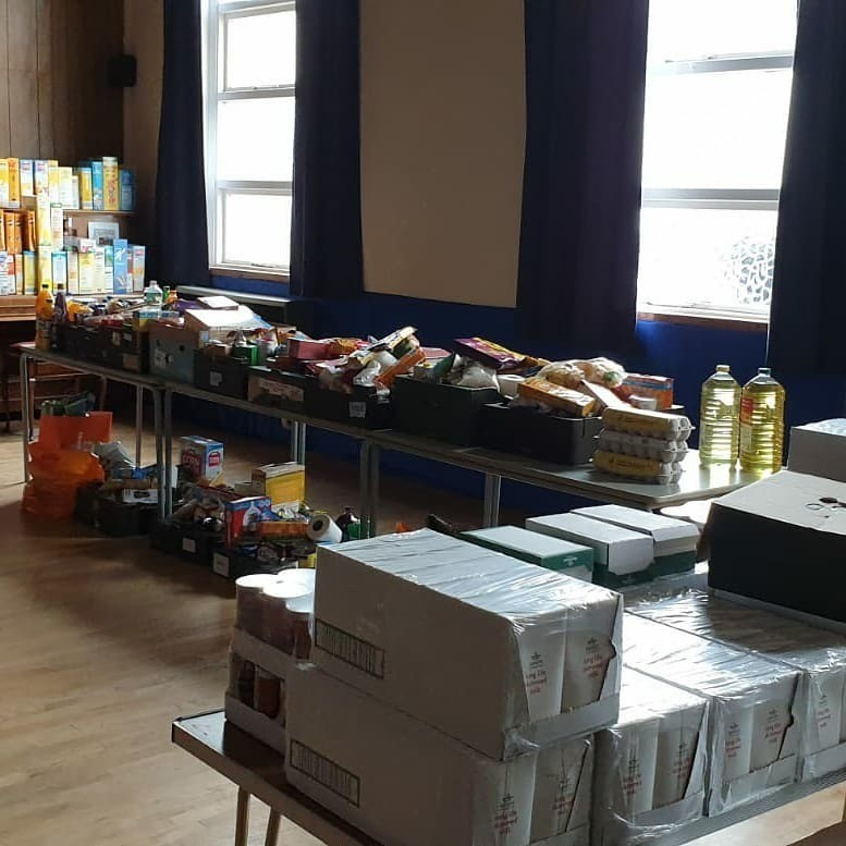 Foodbank collection | Asda Spennymoor