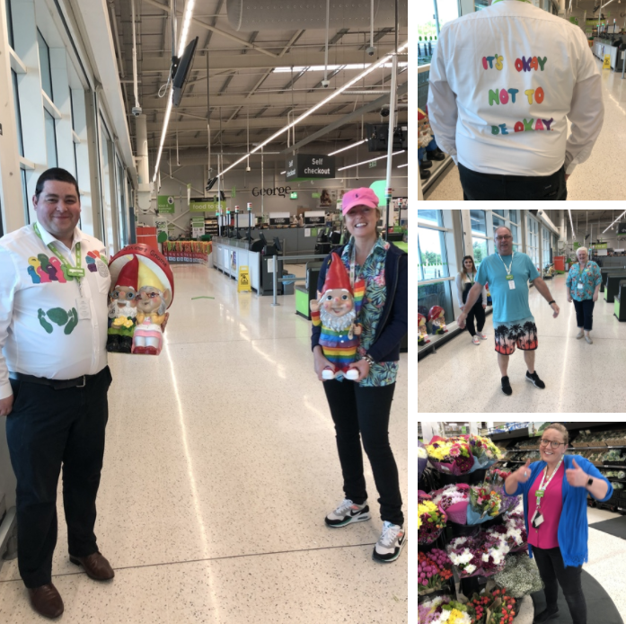 Bright colours show support for Mental Health Awareness Week | Asda Portadown
