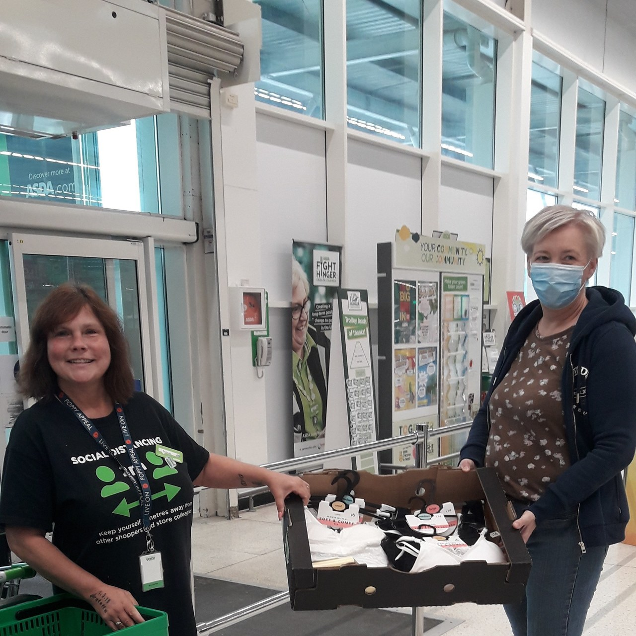 Breast Cancer support | Asda Stockton