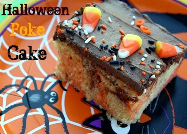 Halloween Poke Cake - Blog enhancement image