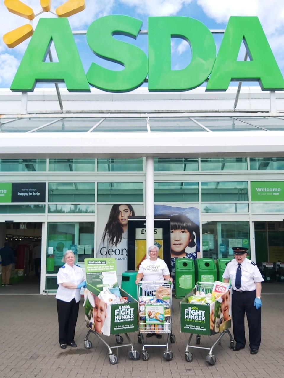 Generosity at it's best | Asda Donnington Wood