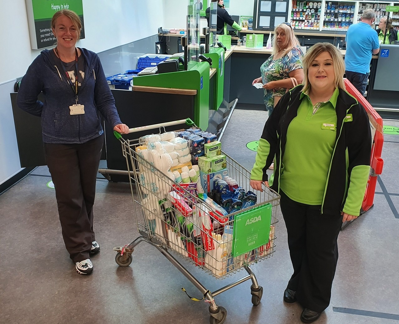 Shortlees Community Association donation | Asda Kilmarnock