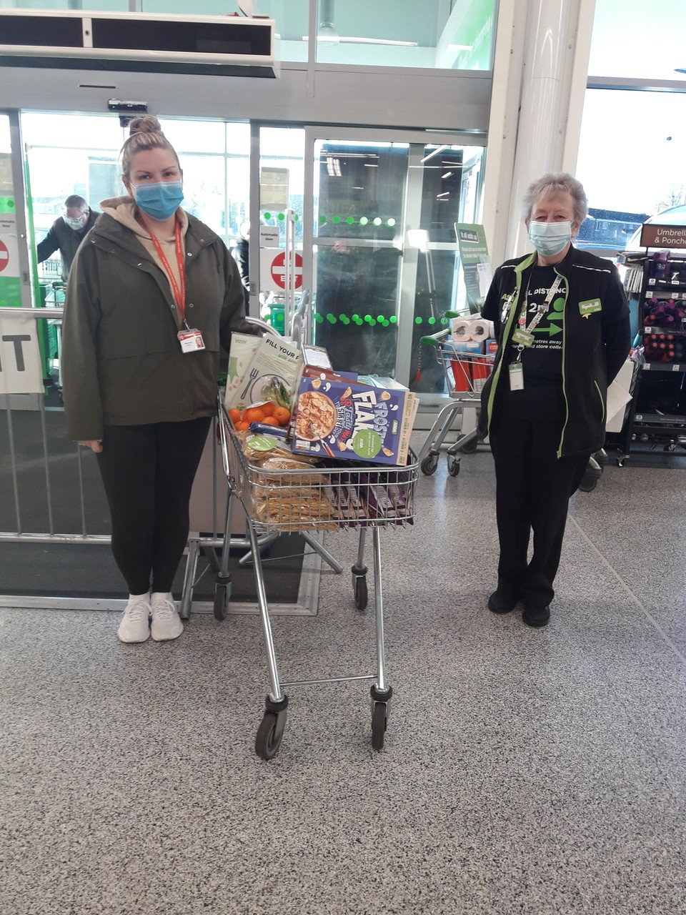 Donation to Vale View Primary  | Asda Reddish