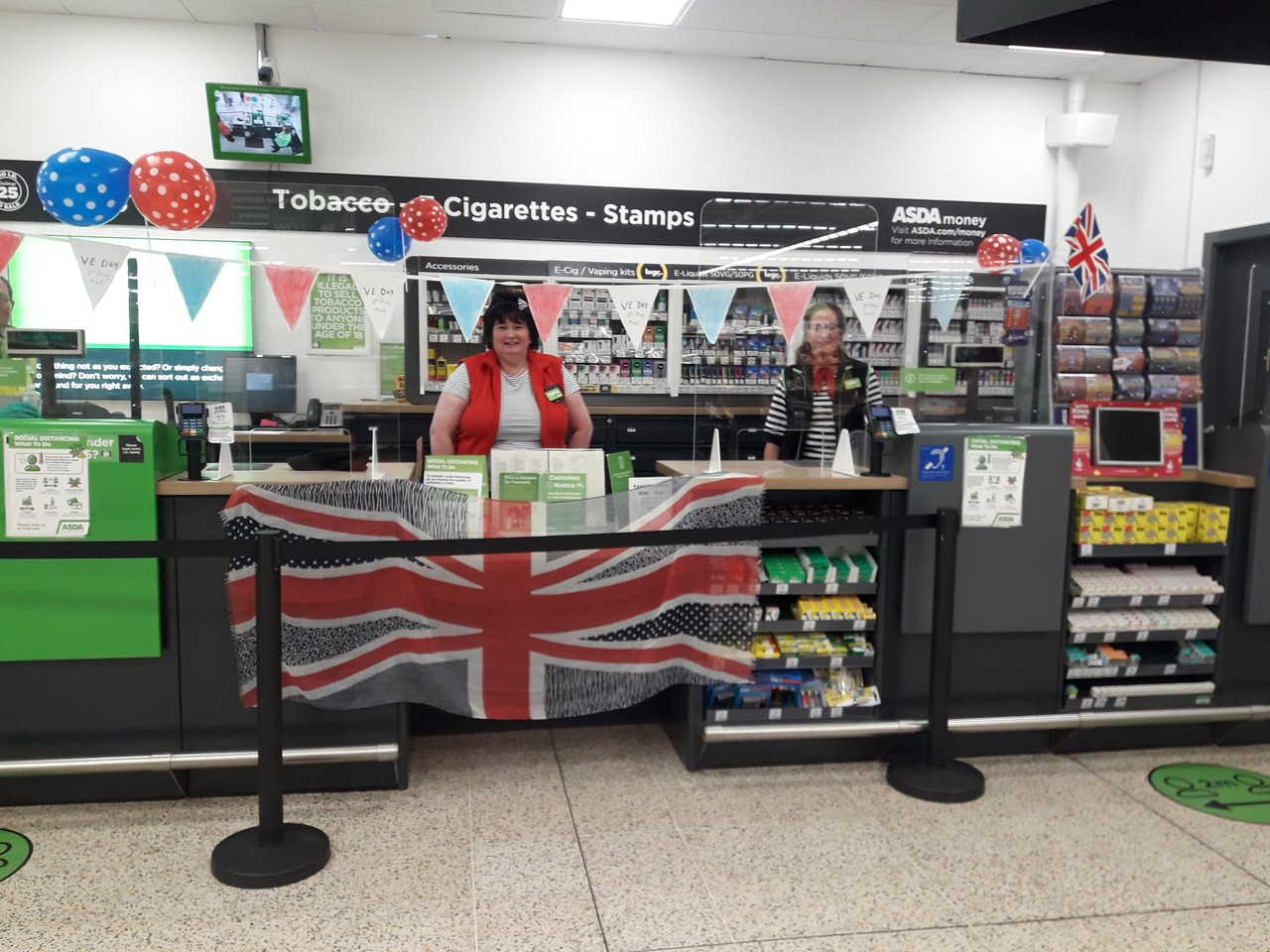VE Day celebration  | Asda Chapeltown