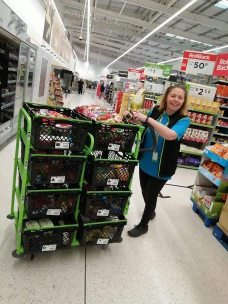 Helping our local food banks | Asda Newport Pillgwenlly